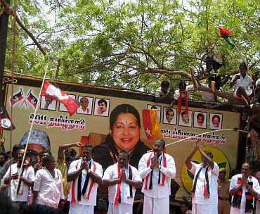The six AIADMK alliance candidates from Tuticorin district