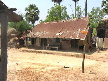 A house in Pakha village
