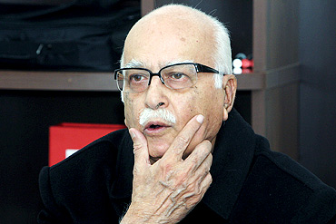 BJP leader L K Advani reportedly said Hazare maligned politicians by his agitation