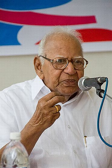 Former Supreme Court judge V R Krishna Iyer
