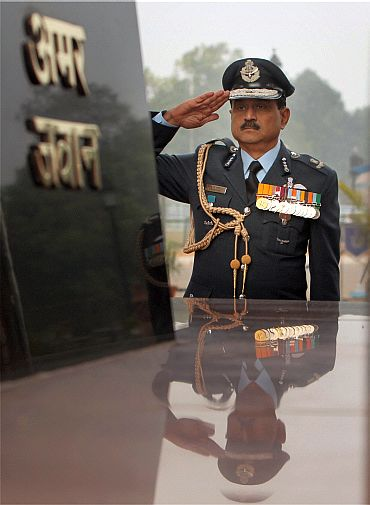 Meet NAK Browne, India's new air force chief