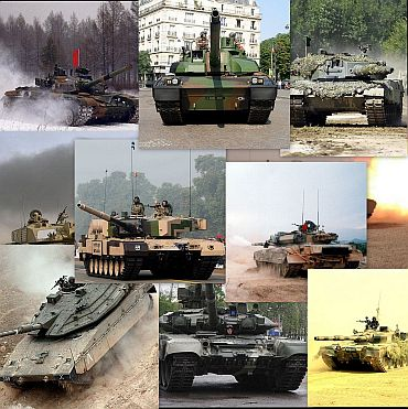 The best battle tanks in the world today