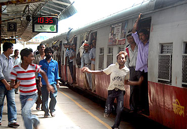 Mumbai's jam-packed local trains strain one's limits of endurance, and sometimes one's conscience