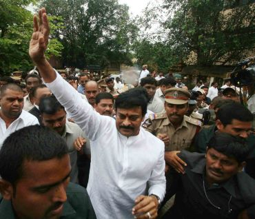 Telugu actor turned politician and Praja Rajyam Party chief K Chiranjeevi on August 22 joined the Andhra Pradesh Congress