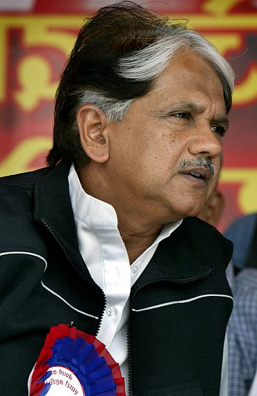 Anil Shastri, speacial invitee to the Congress Working Committee