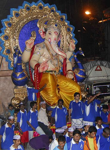 Lord Ganesh is back