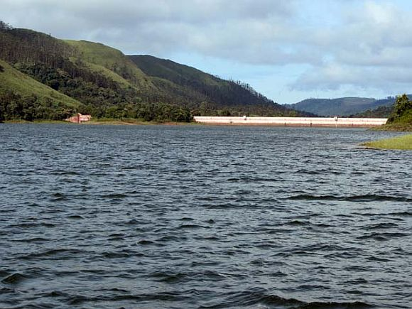 The Mullaperiyar reservoir