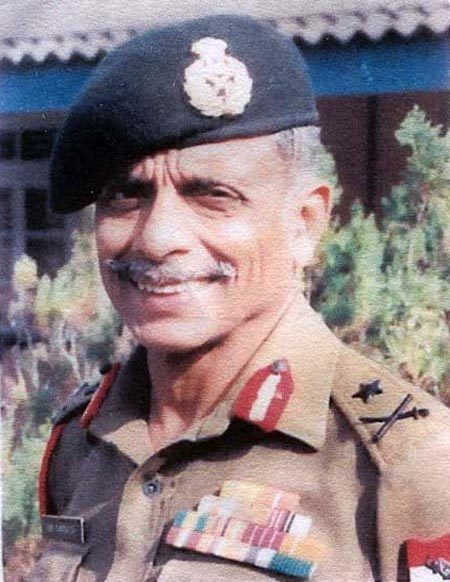 Major General Ian Cardozo served the Indian Army with distinction and was the first disabled officer to command a battalion and a brigade