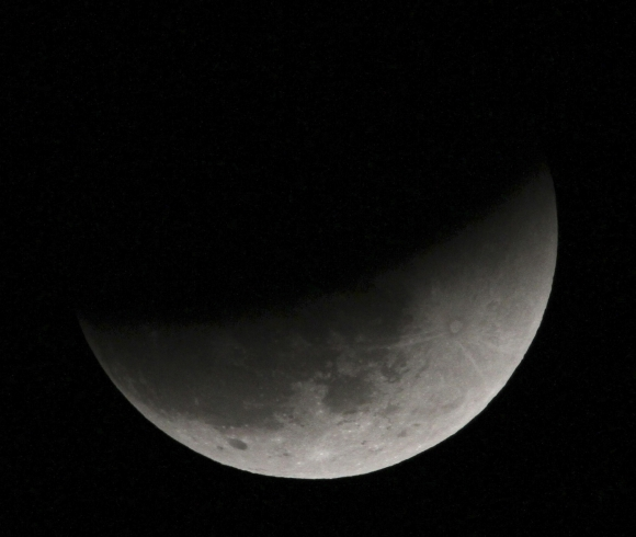 This year's last total lunar eclipse