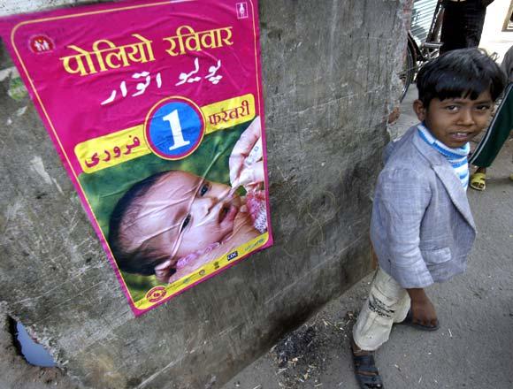 Polio Ravivaar poster. Courtesy: Rediff