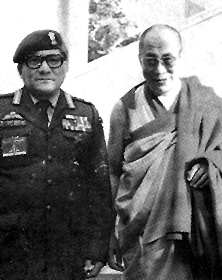 With the Dalai Lama in Dharamsala