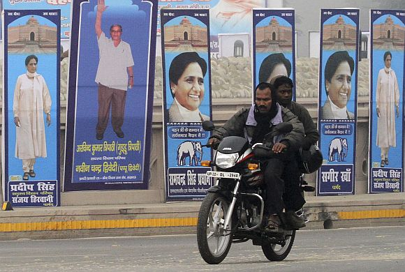 Will the Dalits disown Mayawati or save her?