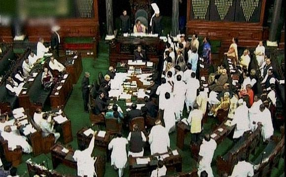 A video grab of the Parliament debate