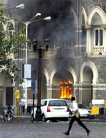 The Taj Mahal Hotel was attacked by Pakistan-based terrorists during 26/11