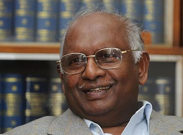 Former Chief Justice of India K G Balakrishnan