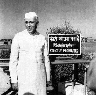 Jawaharlal Nehru. Photograph: Homai Vyrawalla