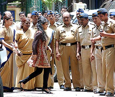 Maria Susairaj walks out of Byculla jail