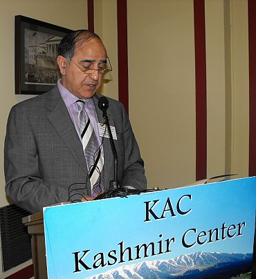 Syed Ghulam Nabi Fai, who ran the Kashmiri American Council