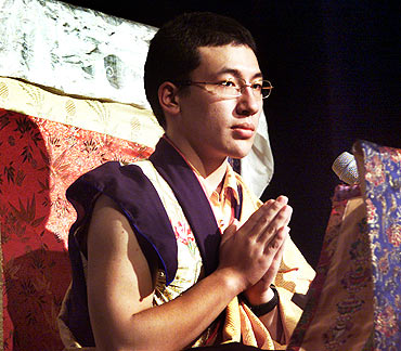 Thaye Dorje, sponsored by Shamar Rinpoche, one of the regents of the 16th Karmapa