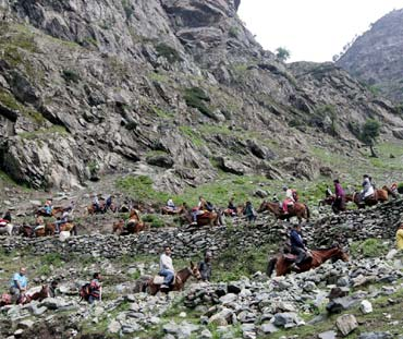 IN PIX: The extraordinary journey to Lord Amarnath