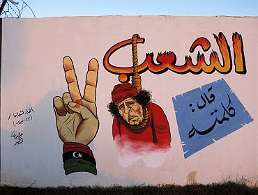 Gaddaffiti in Benghazi