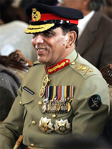 Pakistani army chief General Ashfaq Kayani