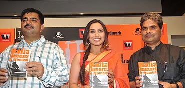Zaidi at the book launch