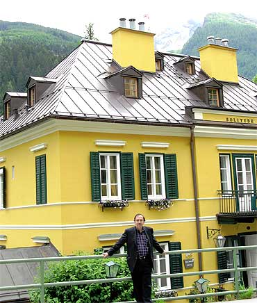 Sugata Bose in Badgastein, Netaji and Emilie's favourite hill resort