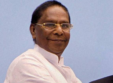 Minister of State for Personnel V Narayanasamy
