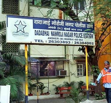 The DN Nagar police station which is investigating the murders