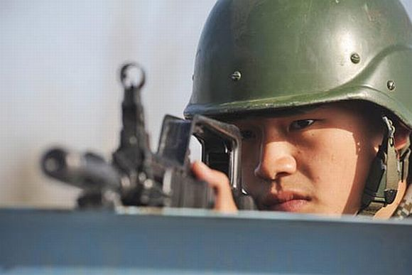 What China thinks of India's military posturing