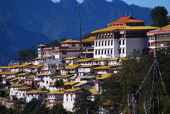 The Tawang monastery in Arunachal Pradesh