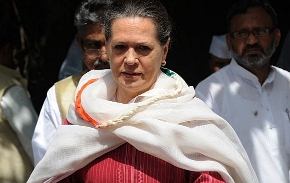 Sonia Gandhi, the longest serving president of the Congress party