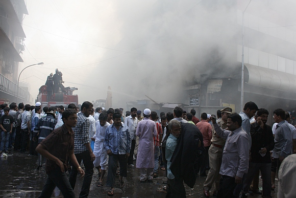 Mumbai's popular shopping enclave gutted