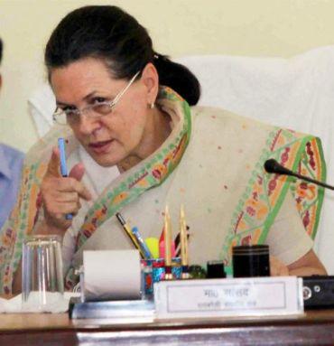 Modi is 'closing eyes, resorting to lies': Sonia