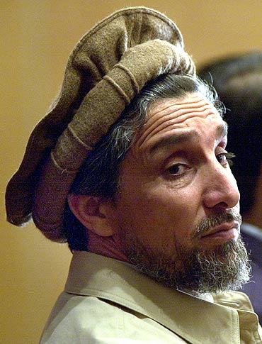 Ahmad Shah Massoud on a visit to Paris a few months before his assassination. Photograph: Reuters