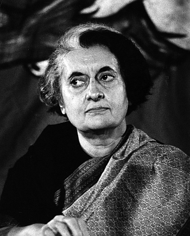 Former Indian PM Indira Gandhi