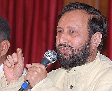 BJP national spokesperson Prakash Javdekar