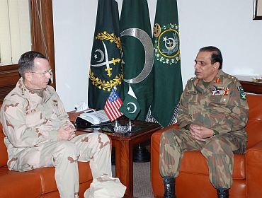 Admiral Mullen with Pakistan Army chief Kayani