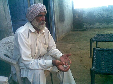 Mangal Singh has mortgaged his  land, tractor, fields, house to raise money for his son