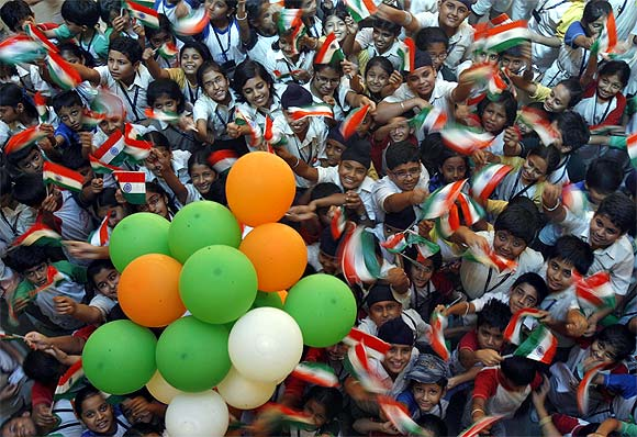 Students celebrate Independence Day