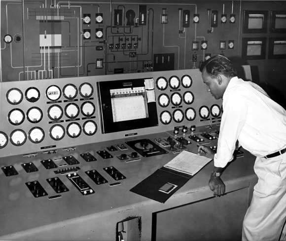 When the CIRUS nuclear reactor at Trombay began functioning in 1955, it was staffed entirely by Indians, most of whom were trained in Canada, England and the US