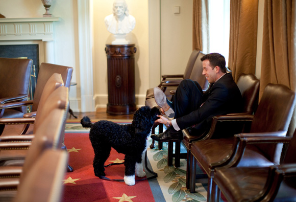 IN PHOTOGRAPHS: Candid moments in the White House