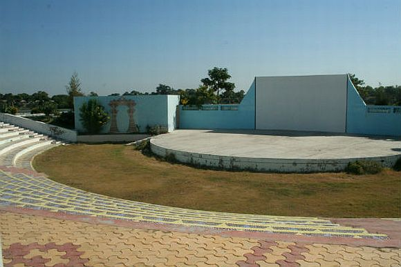 The amphitheatre at Vadnagar