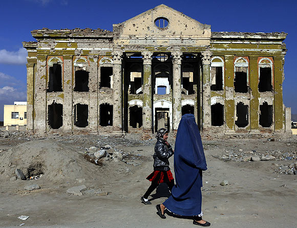 A scene from Kabul, December 11, 2012