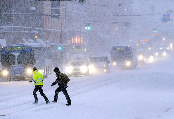The BIG freeze grips Europe