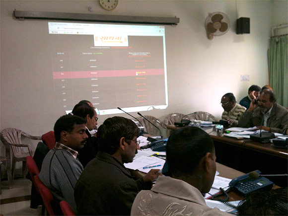 Inside UP's election war room