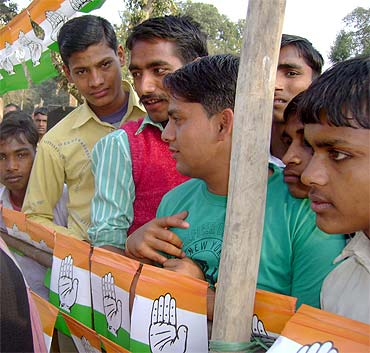 The youngsters at Priyanka Gandhi's rally