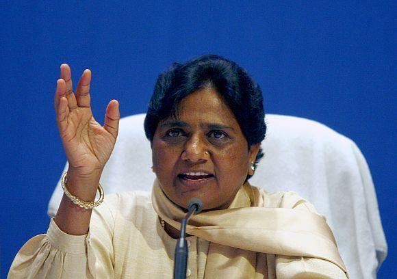 Bahujan Samaj Party leader Mayawati