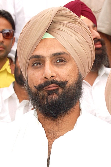Raninder Singh is contesting Samana assembly segment